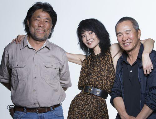 Mark Lee Ping-bing (李屏賓, left), photo courtesy of Taipei Golden Horse Film Festival
