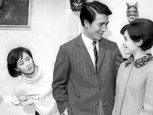 Ko Chun-hsiung (center) in his award-winning performance in the 1967 movie Lonely Seventeen