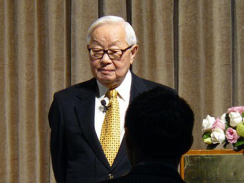 TSMC Chairman Morris Chang (張忠謀)