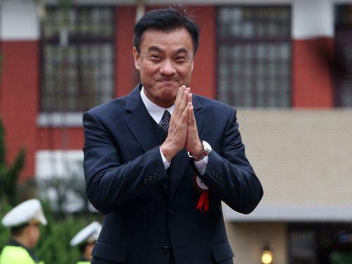 New Legislative Speaker Su Jia-chyuan.