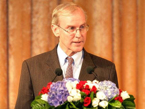 Stephen M. Young, former director of the American Institute in Taiwan