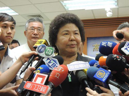 Chen Chu (CNA file photo)