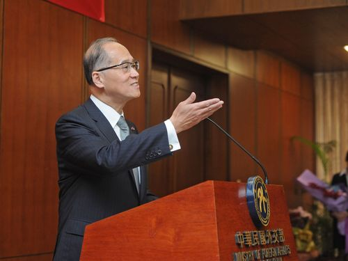 Foreign Minister David Lee