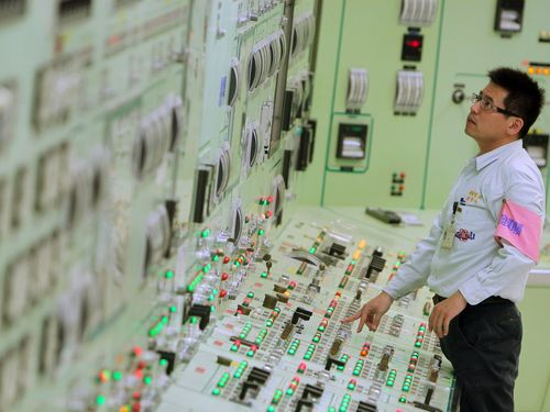 Inside the second nuclear power plant in New Taipei. (CNA file photo)