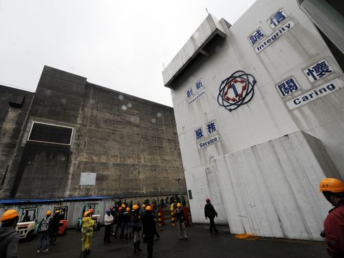 The first nuclear power plant in New Taipei. (CNA file photo)