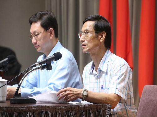 Minister Without Portfolio Lin Wan-i