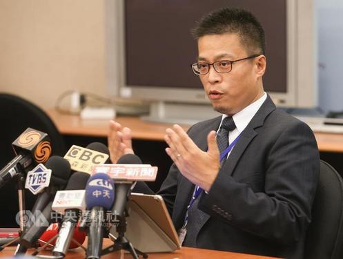 Presidential Office spokesperson Alex Huang