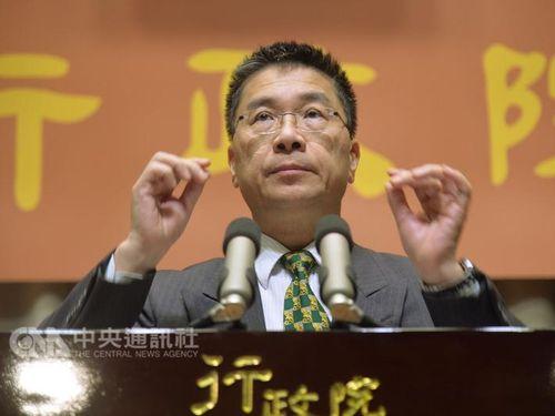 Cabinet spokesman Hsu Kuo-yung (徐國勇) (CNA file photo)