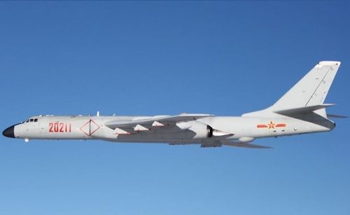 A Xian H-6K bomber. (Photo from Wikimedia Commons)