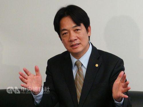 Premier Lai Ching-te (賴清德)/CNA file photo