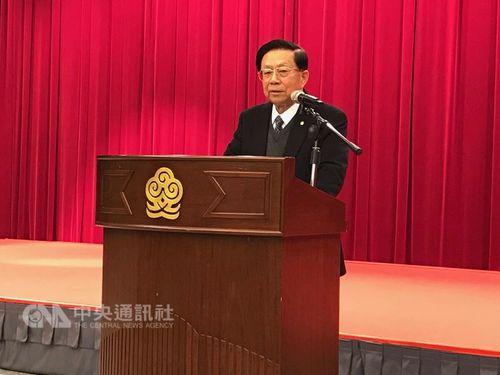 Straits Exchange Foundation Chairman Tien Hung-mao (田弘茂)