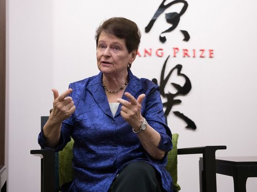 Photo courtesy of Tang Prize Foundation