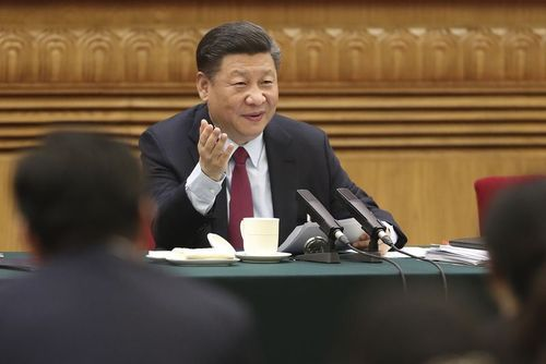 Xi Jinping; photo courtesy of China News Service