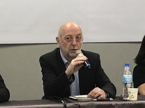IFJ President Philippe Leruth