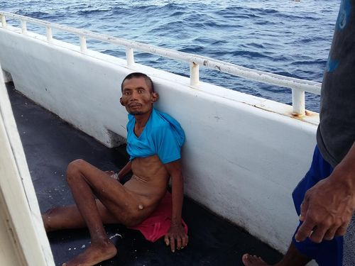 Greenpeace publishes a report with photos of Indonesian fisherman Supriyanto, who died on board Taiwanese fishing boat Fu Tsz Chiun in 2015, to link human rights abuses to Taiwan