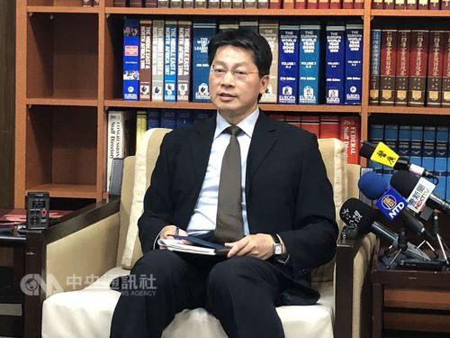 MOFA spokesman Andrew Lee (李憲章)/CNA file photo