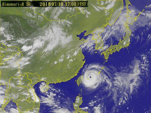 Image courtesy of Central Weather Bureau