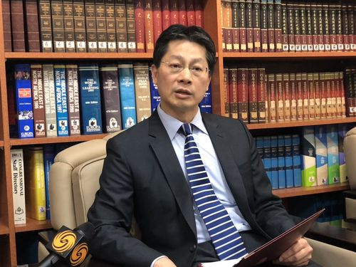 Foreign Ministry  spokesman Andrew Lee (李憲章)