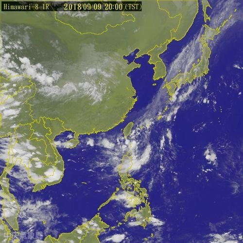 Image taken from Central Weather Bureau website