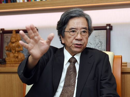 Michael Hsiao, chairman of the Taiwan-Asia Exchange Foundation (TAEF)