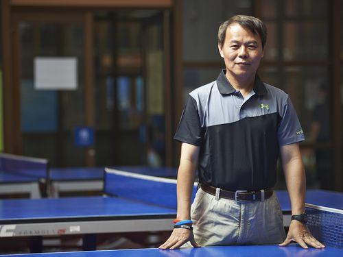 Hung Tsung-min (洪聰敏/Photo courtesy of National Taiwan Normal University