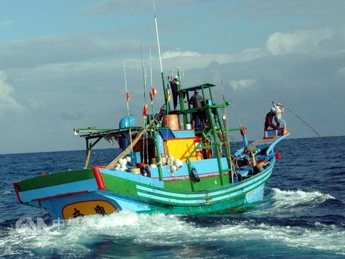 Generic image of a local fishing boat (CNA file photo)