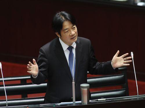 Premier Lai Ching-te