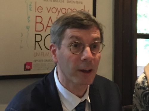 French Human Rights Ambassador François Croquette