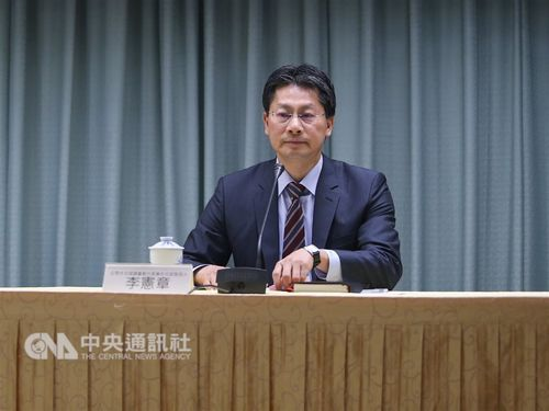 Ministry of Foreign Affairs (MOFA) spokesman Andrew Lee (李憲章) / CNA file photo