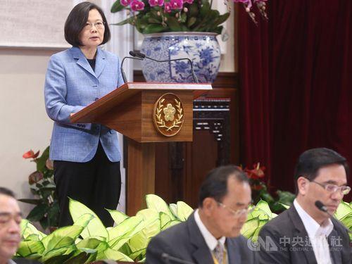 Tsai Ing-wen (蔡英文)/CNA file photo