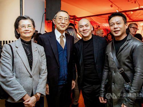 Tsai Min-Liang (蔡明亮, second right) / Photo courtesy of the Taipei Representative Office in the U.K.