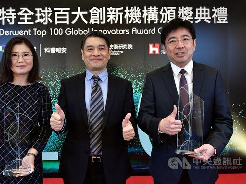Edwin Liu (劉文雄, right)/Photo courtesy of ITRI