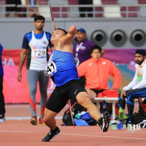 Cheng Chao-tsun (Photo from the Facebook page of Chinese Taipei Athletics Association)