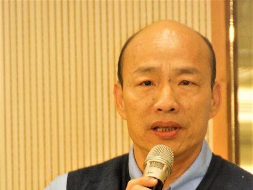 Kaohsiung Mayor Han Kuo-yu (韓國瑜)