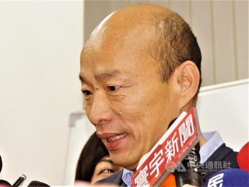 Kaohsiung Mayor Han Kuo-yu (韓國瑜) / CNA file photo