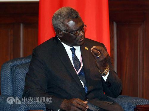 Solomon Islands prime minister-designate Manasseh Sogavare / CNA file photo