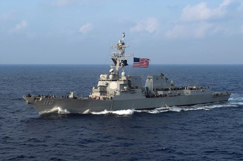 USS William P. Lawrence, photo from U.S. Pacific Fleet
