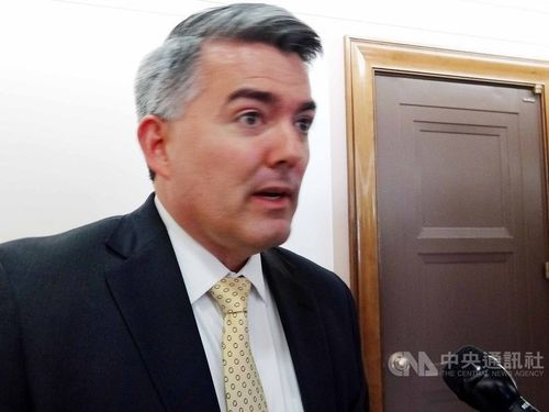 Cory Gardner, chairman of the Subcommittee on East Asia, the Pacific and International Cybersecurity Policy / CNA file photo