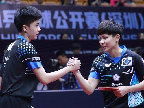 Lin Yun-ju (left) and Cheng I-ching