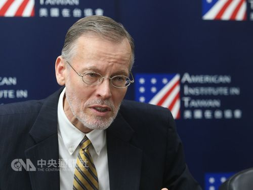 American Institute in Taiwan Director Brent Christensen /