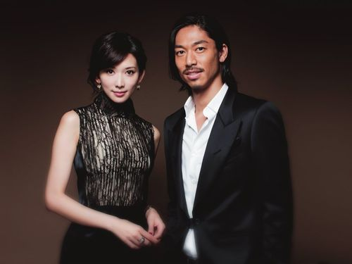 Lin Chi-ling (left) and Akira of EXILE Photo taken from facebook.com/EXILEAKIRA.official