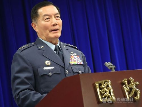 New chief of military staff Shen Yi-ming