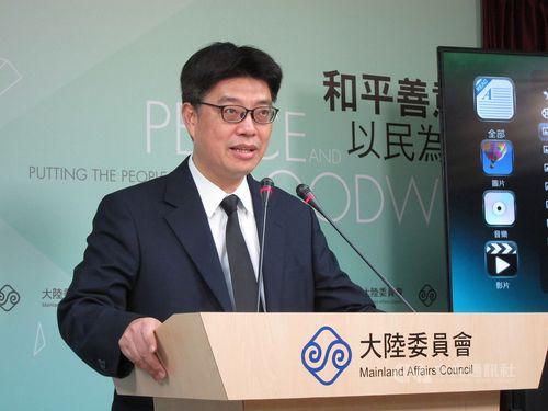 MAC Deputy Minister Chiu Chui-cheng (邱垂正) CNA photo