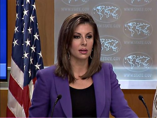 Department of State spokesperson Morgan Ortagus / Image taken from U.S. Department of State website (state.gov)