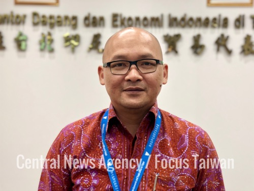 Fajar Nuradi, director of the Indonesian Citizens Protection and Social Cultural Department at the Indonesian Economic and Trade Office (IETO) in Taipei
