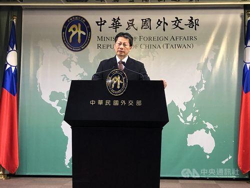 MOFA spokesman Andrew Lee (李憲章)