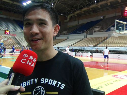Mighty Sports-Go For Gold Philippines head coach Charles Tiu
