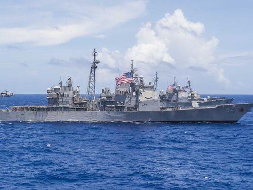 USS Antietam (Photo from www.navy.mil)