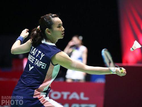 Taiwanese badminton star Tai Tzu-ying / photo from Tai's Facebook