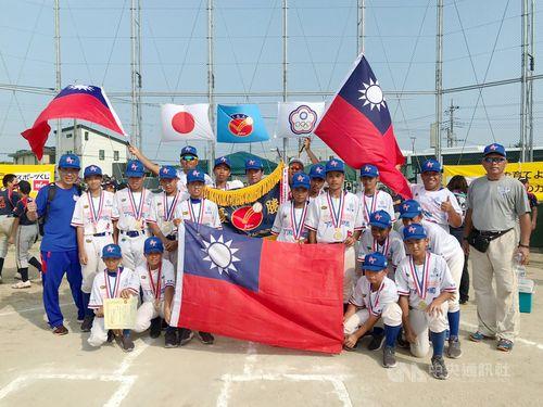 Photo courtesy of Chinese Taipei Student Baseball Federation